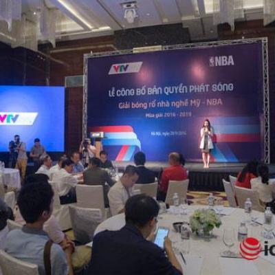 VTVcab sở hữu bản quyền giải bóng rổ nhà nghề Mỹ trong 3 năm